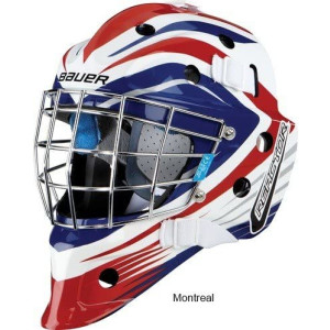 Bauer Torwart Maske NME5 Sr Montreal