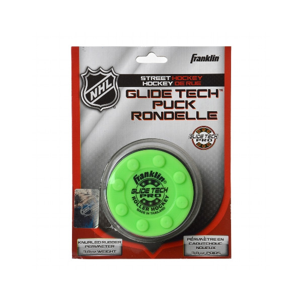 FRANKLIN NHL GLIDE TECH PRO PUCK - BLISTER