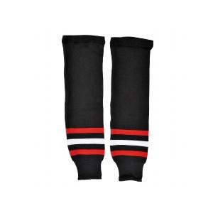 NHL Stutzen Chicago Blackhawks Junior Rot/Schwarz/Weiß