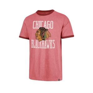 NHL Chicago Blackhawks Belridge 47 CAPITAL Ringer Tee