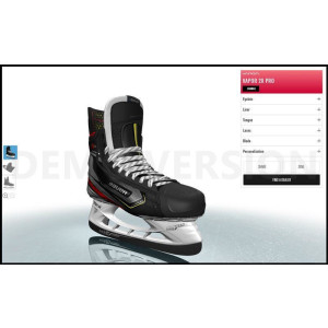 BAUER Skates  - MyBauer - inkl. Custom Blade