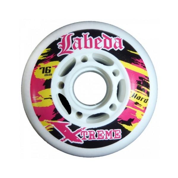 LABEDA Inline Rolle Gripper Extreme Hard 4er Set