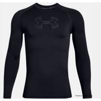 UA Jungen T-Shirt UA HeatGear® Armour, langärmlig