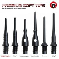 BULLS Tefo-X Shark Soft Tips 6mm(2BA) 100 Stück