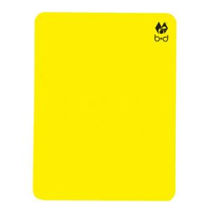 ISHD Schiedsrichter Karten gelb
