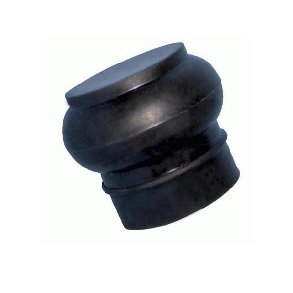 Stockendschutz aus Gummi rund