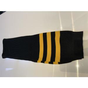 Stutzen schwarz/gelb