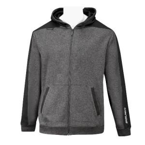Bauer Fleece Full Zip Youth blk