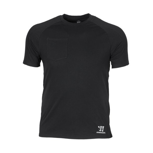Warrior T-Shirt Sr. m. Tasche blk
