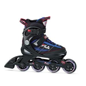 FILA Inline Skate J-One - schwarz/blau/rot -