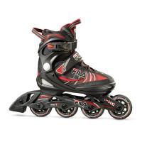 FILA Inline Skate J-One - schwarz/rot -
