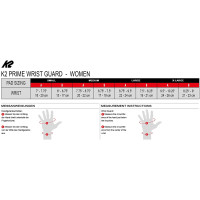 K2 Prime Wrist Guard M