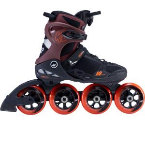 K2 VO2 S 100 Boa Inline Skates Black/Orange-Red
