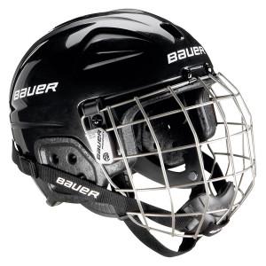 BAUER Helm mit Gitter LIL Sport