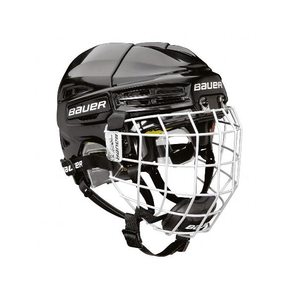 BAUER Helm mit Gitter RE-AKT 100 Yth