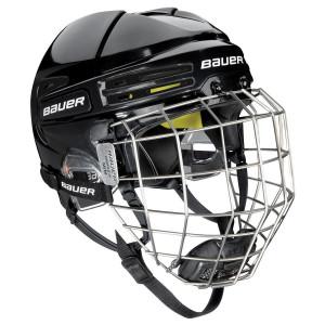 BAUER Helm mit Gitter RE-AKT 75 blk