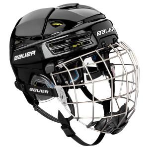 BAUER Helm mit Gitter RE-AKT 200