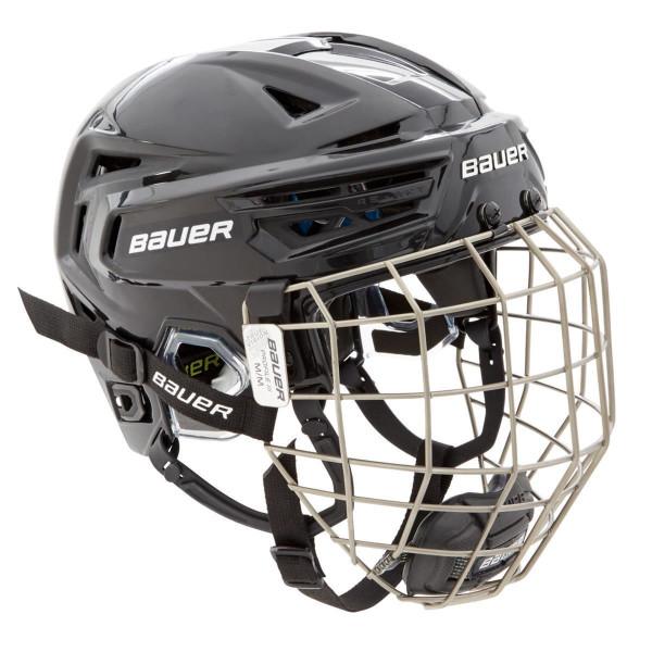 BAUER Helm mit Gitter RE-AKT 150