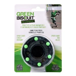 Green Bisquit Roller Puck