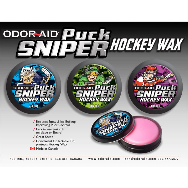 Odor Aid Hockey Wax Puck Sniper
