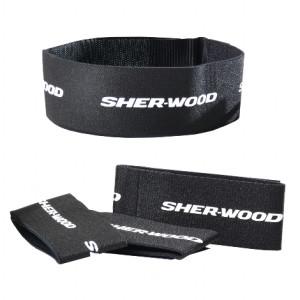 """SHER-WOOD Leg Straps Velcro 2"""" - Junior"""